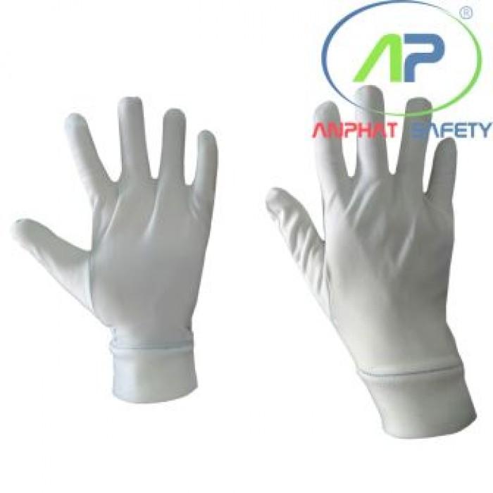 Găng tay thun lạnh+bo viền