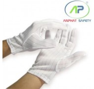 Găng tay chống tĩnh điện không hạt (M)