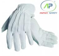 Găng tay chấm hạt thời trang Vải Cotton Size M