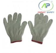 Găng tay Poly (Trắng) cổ dài (K10) 40g