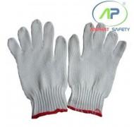 Găng tay Poly (Trắng) cổ dài (K7) 60g