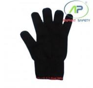 Găng tay len màu đen (60g)